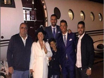 FOTO Ronaldo a IGNORAT ordinele lui Zidane! S-a dus din nou in Maroc si si-a luat toata familia cu el!