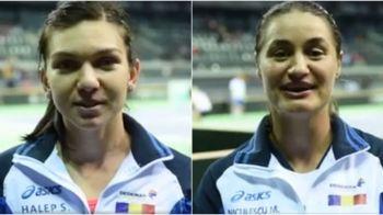 Mesajul fetelor pentru romani, inaintea meciului cu Cehia: Simona Halep si Monica Niculescu asteapta sustinere impotriva Kvitovei si a Pliskovei