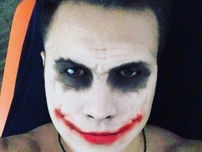 Why so serious? O vedeta din Bundesliga s-a costumat in celebrul Joker din Dark Night! FOTO