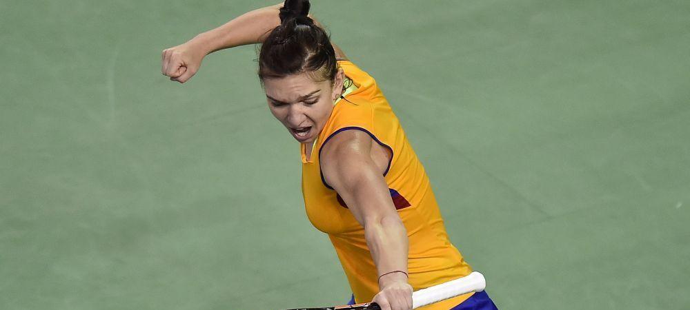 Simona e ALL IN pentru Romania! Ce a declarat dupa SUPER victoria cu Kvitova de la Fed Cup