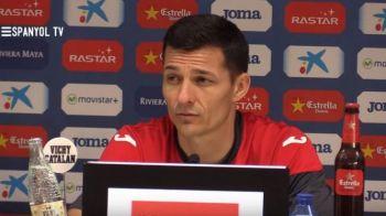 "Espanyol a ajuns intr-o situatie disperata, dupa 5 infrangeri si 2 egaluri in 2016, dar Galca ramane: ""Nu i-am dat niciun ultimatum"". Ce spune romanul"