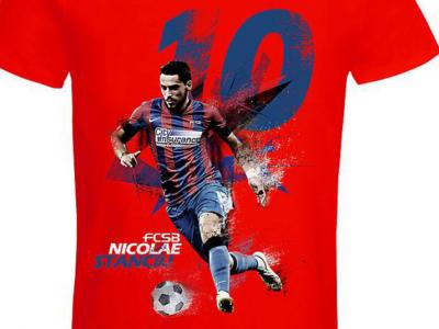 Steaua a lansat colectia de tricouri de Valentine's Day! Cat costa cadourile personalizate cu jucatorii Stelei