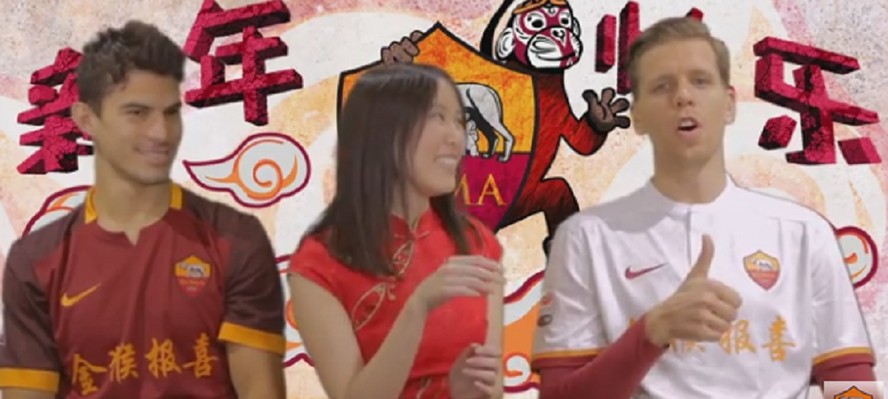 Cluburile mari ale Europei se intrec in urari cu maimute fericite :) Ce nebunie a iesit cand jucatorii Romei au fost pusi sa vorbeasca in chineza VIDEO