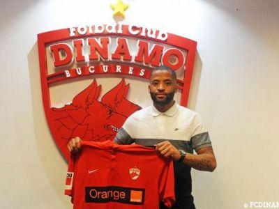 OFICIAL: Dinamo l-a transferat pe Romario Kortzorg, fostul jucator de la ASA Targu Mures