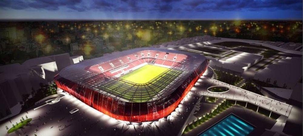 Transformare FANTASTICA pentru viitorul stadion al lui Dinamo! Cum va arata arena de 30 de mii de locuri. FOTO