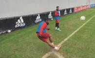 IREAL! Douglas Costa, gol din rabona, direct din corner, la antrenamentul de azi al lui Bayern Munchen VIDEO