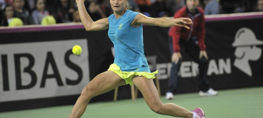 Monica Niculescu, eliminata din optimile turneului de la Sankt Petersburg dupa un meci teribil: romanca a castigat primul set, dar a cedat apoi