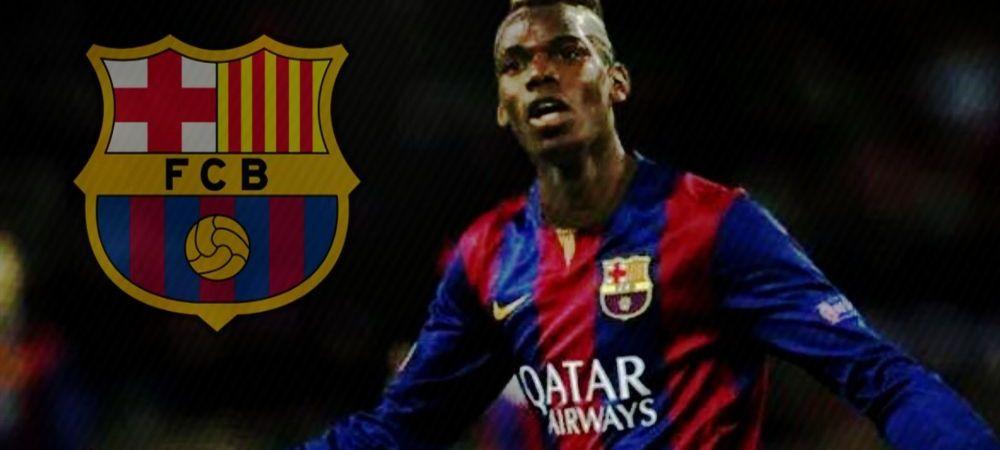 Pogba i-a fost oferit Barcelonei pentru 100.000.000 de euro! Raspunsul imediat dat de catalani