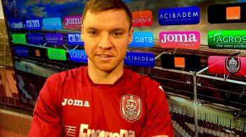 CFR a readus un campion al Ligii I pentru lupta din Play Out: Bud a revenit la Cluj dupa scandalul din Moldova cu Surdu