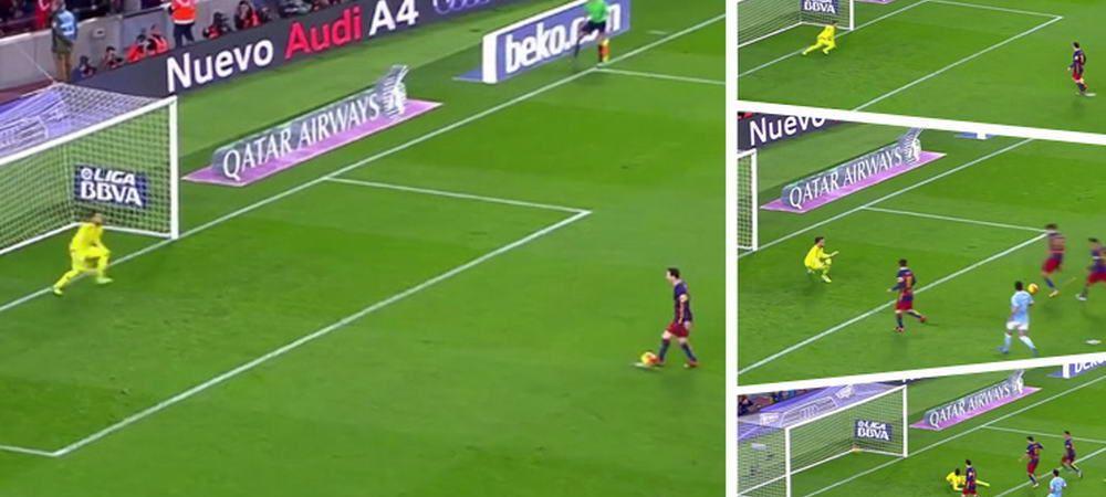 Dovada ca faza anului trebuia ANULATA! Penalty-ul batut de Messi si Suarez a fost executat incorect! FOTO