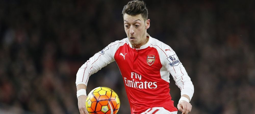 Cifrele RIDICOL DE MARI atinse de Ozil in acest sezon la Arsenal! A batut cele mai bune sezoane din cariera lui Giggs si Gerrard