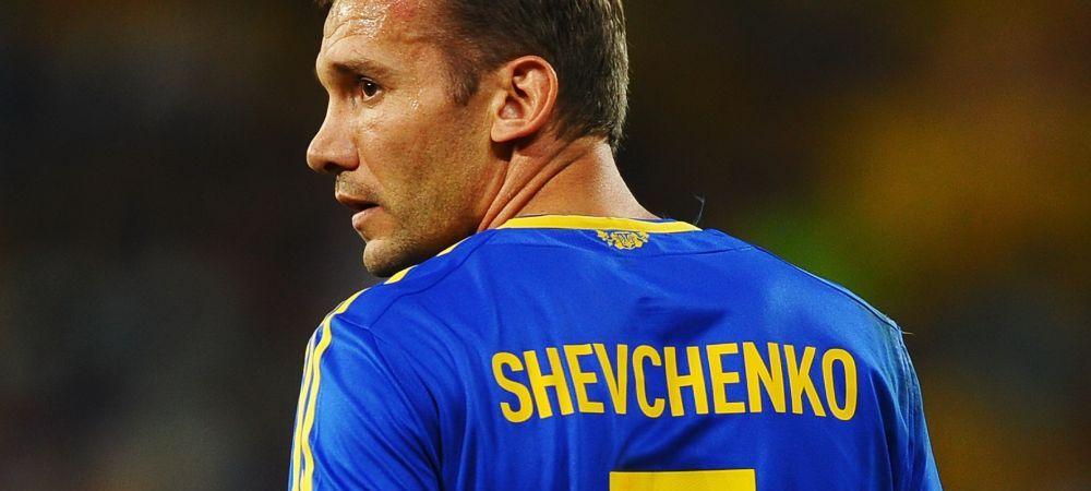 Shevchenko revine in fotbal si merge direct la EURO. Fostul Balon de Aur a acceptat postul de secund al nationalei Ucrainei