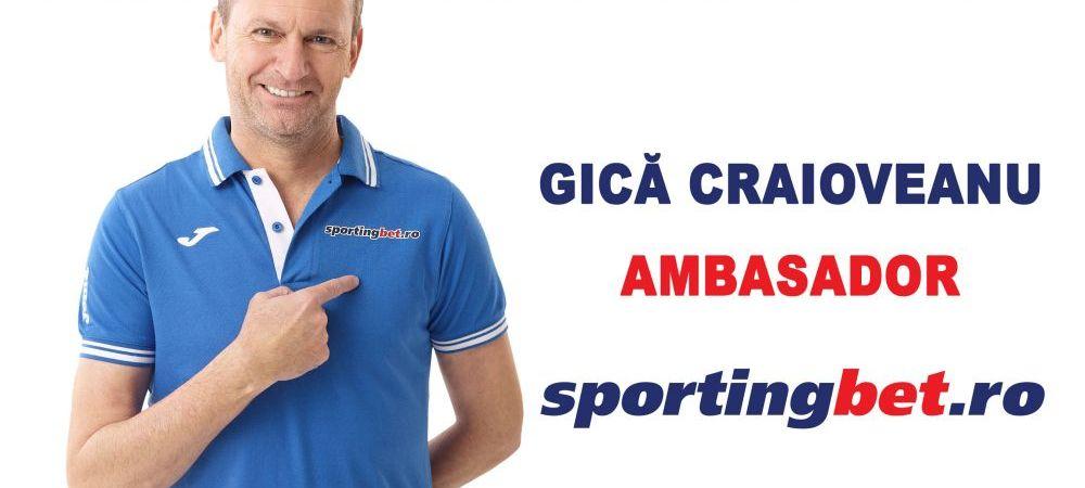 (P) Gica Craioveanu devine Brand Ambassador al companiei Sportingbet in Romania