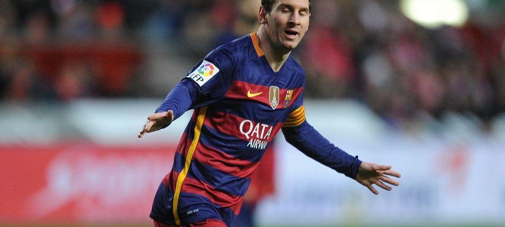 Recompensa EA Sports dupa performanta incredibila de aseara! Ce se va intampla cu Messi in FIFA 16