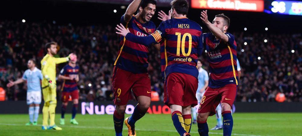 4 cu 40 de goluri. Suarez a intrat in elita atacantilor din istoria Barcelonei! Cine sunt ceilalti 3 care au trecut acest prag
