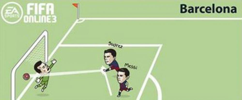 Ce s-ar fi intamplat daca Real, Liverpool, Manchester United sau Chelsea ar fi incercat sa repete penaltyul lui Messi cu Suarez :)