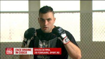 Cine este jandarmul care vrea sa ajunga la Mondialul de MMA de la Las Vegas! Divizia de MMA a in direct la Sport.ro, pe 29 februarie
