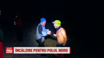 Romanul care se pregateste pentru un ultramaraton la Polul Nord alearga fara haine in Muntii Parang, la zero grade