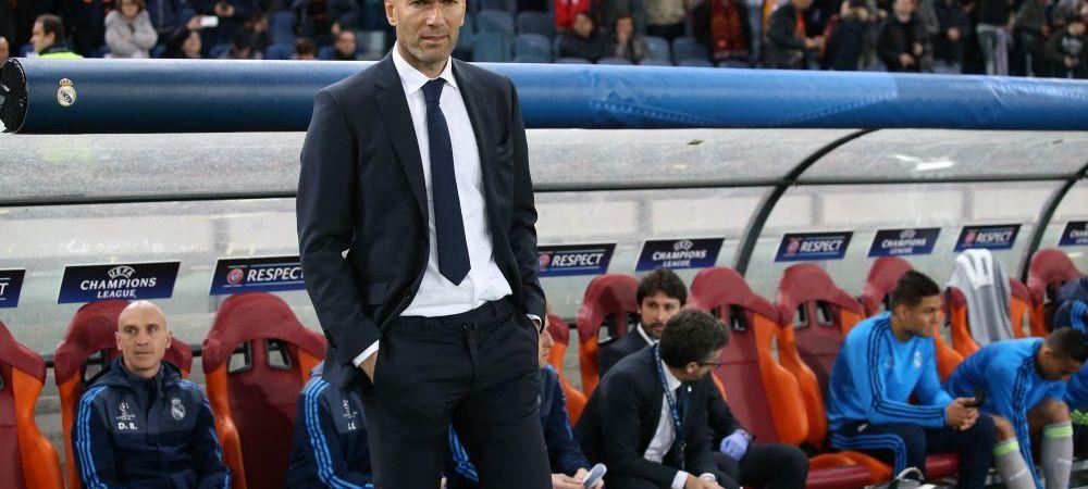 Zidane, al doilea pas gresit pe banca lui Real. Madrilenii si-au luat ADIO de la titlu dupa ce s-au dus la 9 puncte de Barcelona