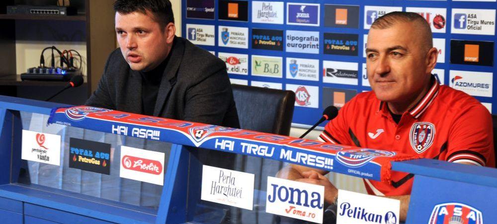 Demitere SOC in Liga I! Grigoras, concediat de ASA Targu Mures dupa doua meciuri!