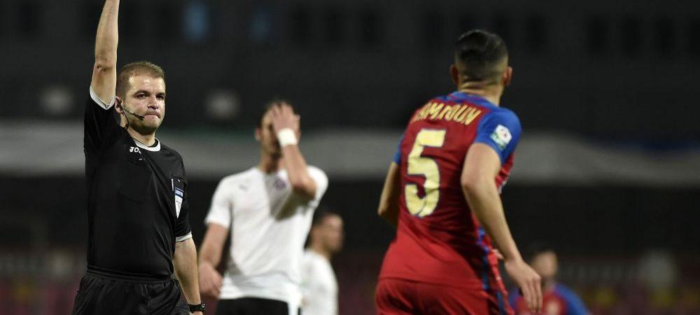 """FOTO Steaua acuza arbitrajul: """"Am avut doua penalty-uri"""" Trei faze suspecte in careul celor de la Voluntari"""