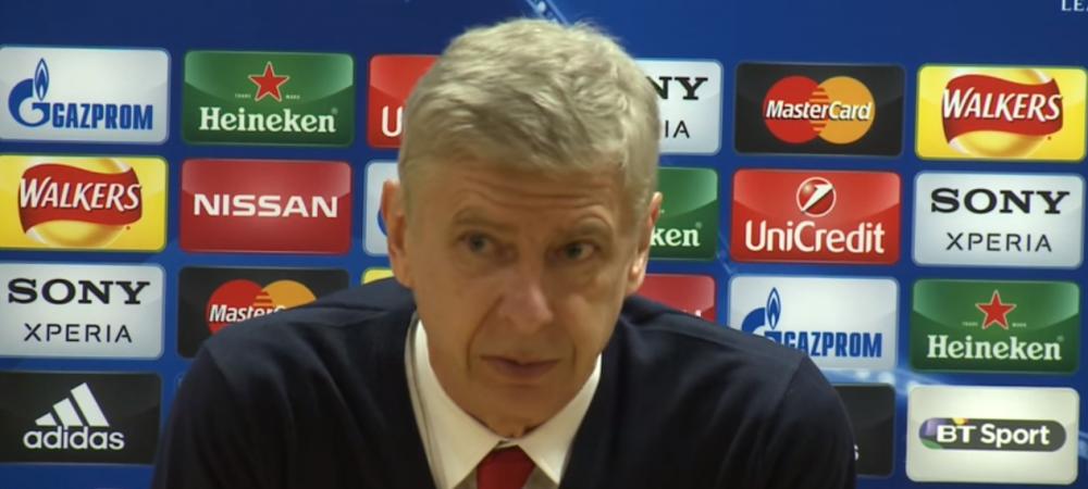 """Si-au format un reflex, incearca mereu sa influenteze arbitrul"". Wenger, dezamagit de infrangerea impotriva Barcelonei: ""Am fi putut sa-i batem"""