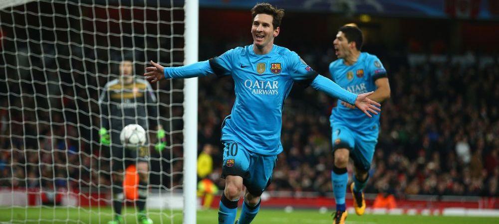 """GENIAL! Lista jucatorilor care au marcat golurile """"milenare"""" are Barcelonei. Messi a semnat golurile 9.000 si 10.000"""