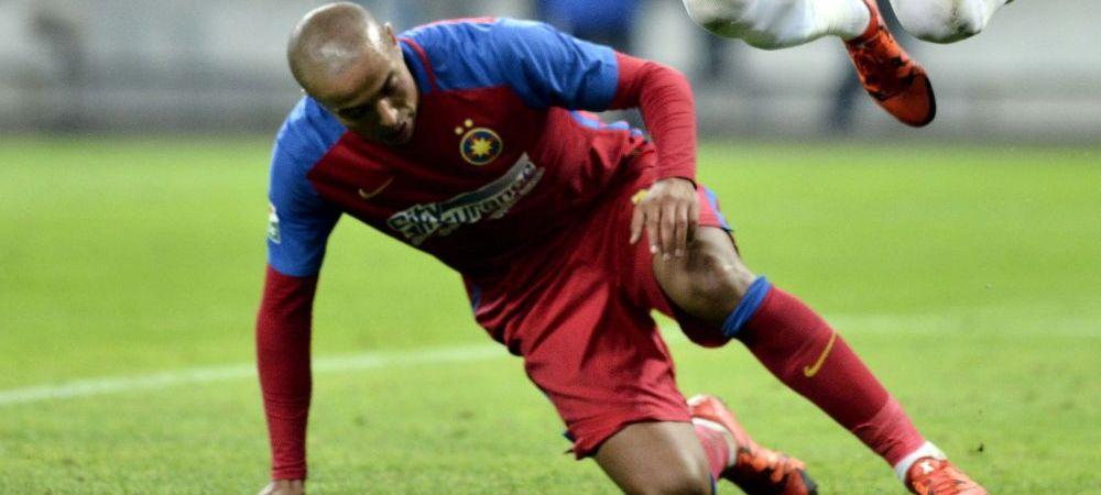 """A jucat primele minute sub comanda lui Reghecampf si spera sa o faca si in Play Off. Kharja: """"Vreau titlul cu Steaua si calificarea in Liga"""""""