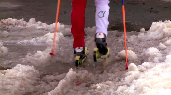 """In cateva locuri era apa, pur si simplu, mergeam prin apa!"" Lupta uriasa ca Romania sa gazduiasca mondialul de schi, desi nu e zapada"