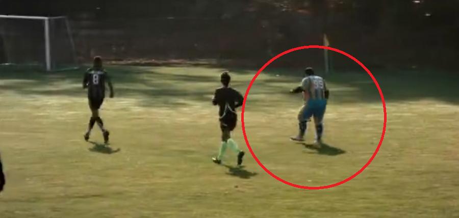 Cum arata cel mai gras fotbalist din Romania? Echipa nu a reusit sa ii faca un tricou care sa il incapa :)) VIDEO