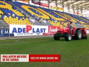 Operatiunea Rama | Ploiestenii vor sa refaca gazonul de pe Ilie Oana pentru Romania - Spania. Stadionul pe care vor juca Ramos si Casillas n-a fost inca anuntat