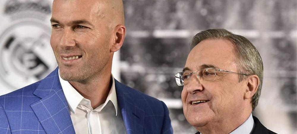 Perez, FURIOS! L-a bagat in sedinta pe Zidane imediat dupa infrangerea cu Atletico! Ce se va intampla la Real in perioada urmatoare