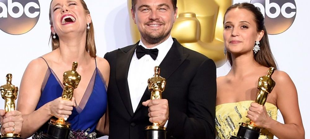 PREMIILE OSCAR 2016. Leonardo DiCaprio, cel mai bun actor. Spotlight a luat marele trofeu. Lista castigatorilor
