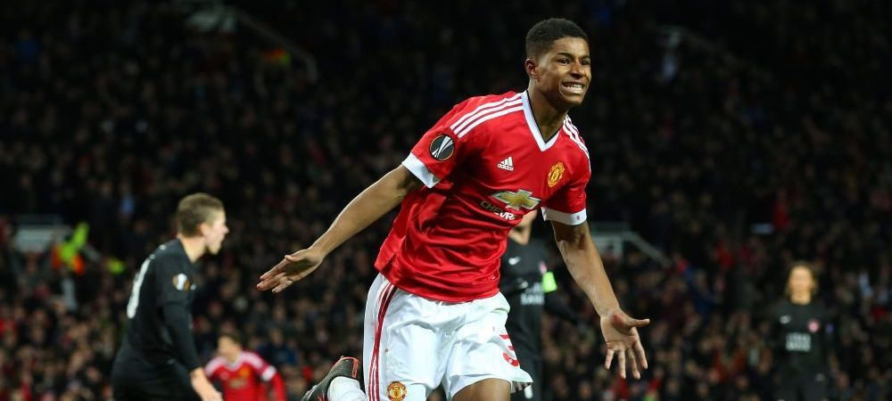 A salvat-o pe United cu 4 goluri primele 2 meciuri, apoi s-a dus sa dea examen la chimie! :) United ii BETONEAZA contractul lui Rashford