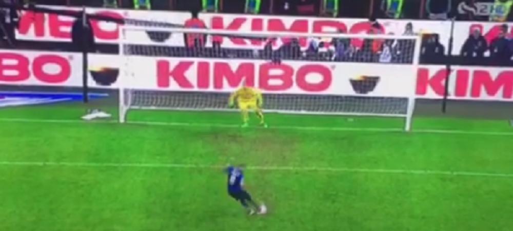 Calificare in finala decisa de tehnologia Goal Line! Momente de confuzie: jucatorii lui Inter s-au bucurat dupa penalty-ul ratat de Palacio :)