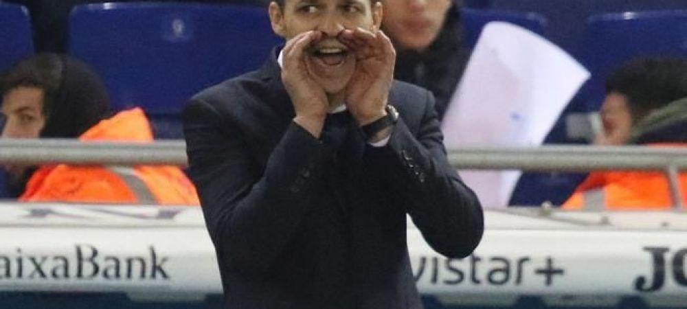 """Echipa lui Galca, umilita din nou in campionat, dupa ce reusise doua victorii consecutive: """"Astazi nu am mai putut"""". Ce a spus antrenorul roman dupa 0-3 cu Betis"""