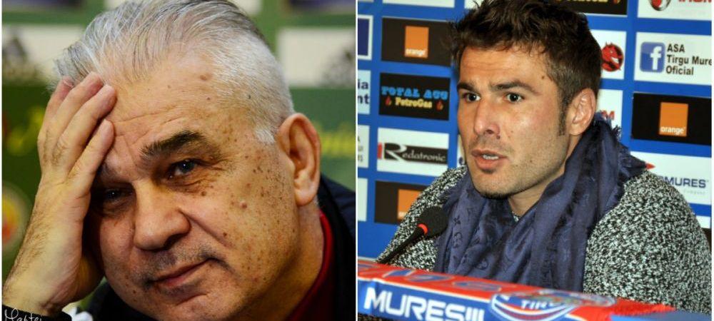 "Iordanescu il ironizeaza pe Mutu dupa ce ""Briliantul"" a spus ca nu e impresionat de Keseru si Rusescu: ""Cred ca doar mie imi face concurenta"""