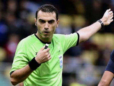 Brigada de Euro pentru marele meci de duminica: Hategan va fi la centru la Dinamo - Steaua