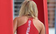 Primele imagini de pe platou cu noua Pamela Anderson! Cum va arata fosta iubita a lui DiCaprio in Baywatch FOTO