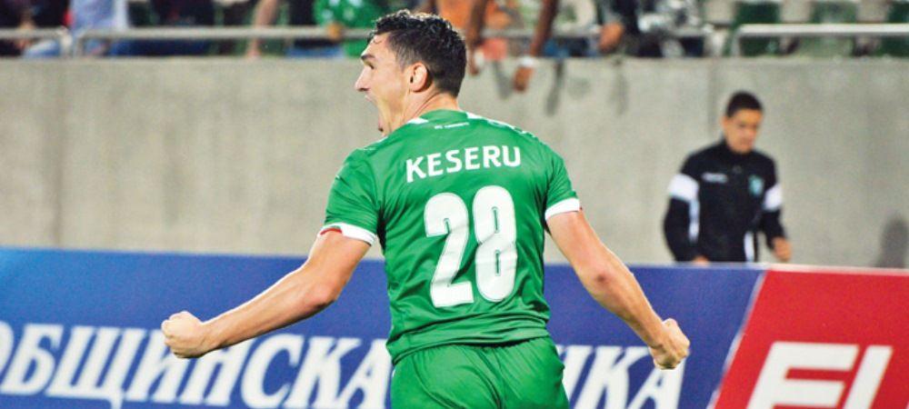 Keseru LOVESTE DIN NOU in Bulgaria! E golgheterul campionatului dupa ce a reusit al 12-lea gol. VIDEO