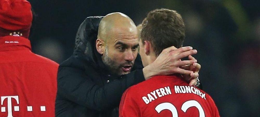 Imagini spectaculoase cu Guardiola la finalul meciului cu Dortmund! Ce i-a facut acestui jucator. VIDEO