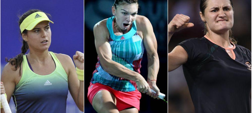 Decadere si revenire: Sorana Carstea, pe drumul catre top 100 mondial. Romanca e in ascensiune si este deasupra Simonei Halep in clasamentul pe 2016
