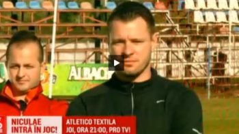 Marius Niculae a dat fotbalul pe actorie: intra in joc pentru Atletico Textila! Serialul incepe AZI la ProTV, ora 21:00, in deschiderea meciului Liverpool - Manchester United