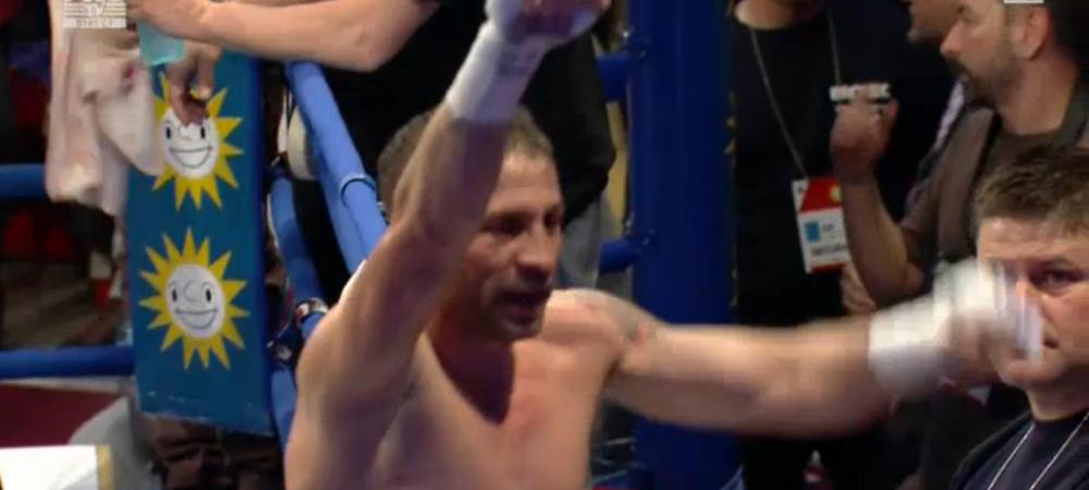 VIDEO: SIMION a castigat centura intercontinentala IBF pentru Romania! Ciocan, KO in prima repriza! Dinu l-a DISTRUS in prima repriza pe Goles