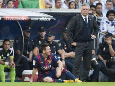 """Doar asa il opresti pe Messi!"" Ancelotti arata care e SINGURA metoda pentru a-l bloca pe Messi. FOTO"