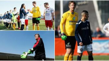 Van der Sar, ce portar! Revenit pe teren la 45 de ani, olandezul a aparat un penalty | VIDEO