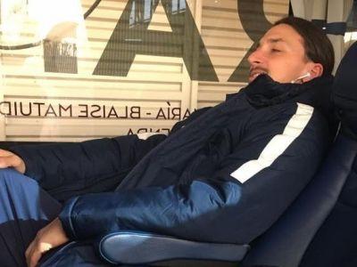 """Omul-TITLU   Zlatan Ibrahimovic, la cel de-al 13-lea titlu in 15 ani: a """"arestat"""" mingea la final pentru vitrina. Ce recorduri a mai stabilit PSG"""