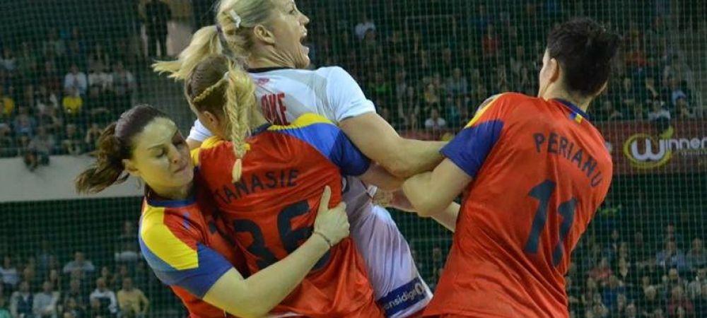 Fara Neagu, Ungureanu, Elisei si Buceschi, Romania a pierdut returul cu Norvegia, in grupa pentru EURO. Nationala, cu gandul la turneul preolimpic de saptamana viitoare