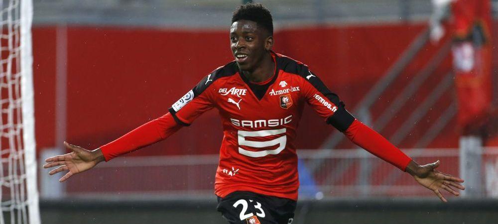 """Oferta de 35.000.000 de euro a Barcei pentru un pusti de 18 ani, dar si un raspuns neasteptat. Cine e noua """"perla"""" din Ligue 1, pe care au pus ochii si City si Bayern"""