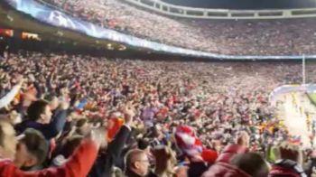 Reactie SENZATIONALA la golul care a trimis-o pe Atletico in sferturile Champions League! Ce s-a intamplat pe stadion